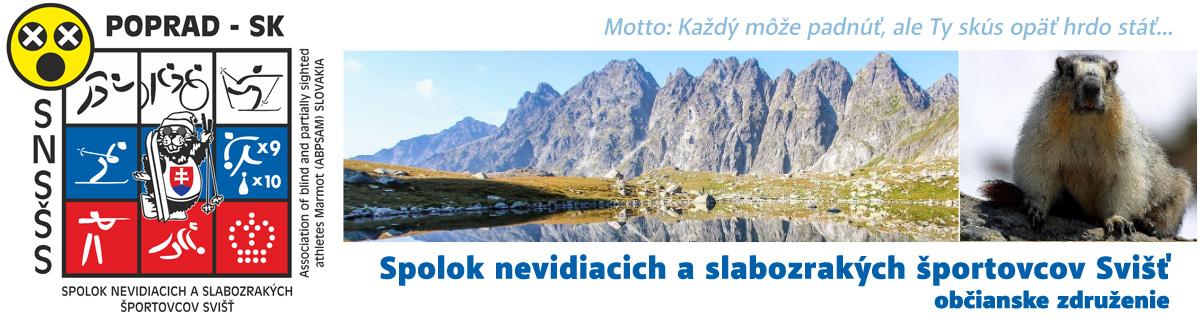 Spolok nevidiacich a slabozrakých športovcov Svišť - S-Svist.sk